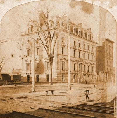 Boston and Albany Railroad Office