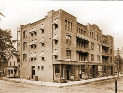 J.S. Sanderson Block, Dwight Street