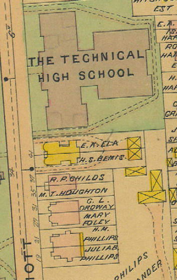 Elliott Street Map