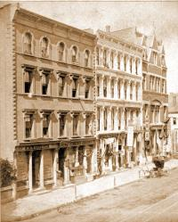 Bill and Shaw's Block in 1878