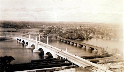 Memorial Bridge and Toll Bridge
